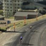 Excelente Time-Lapse de una carrera ciclista